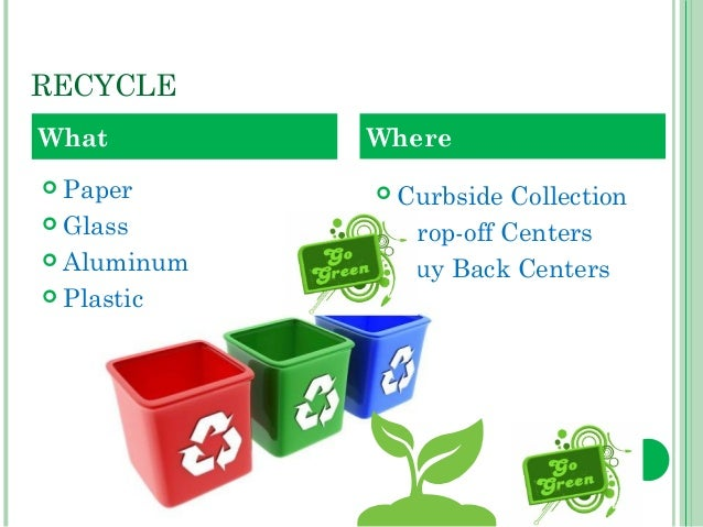 going green by recycling essay 21 good reasons to go green why go green everywhere you go people are talking about going green and how it impacts the recycling helps you to be more creative:.