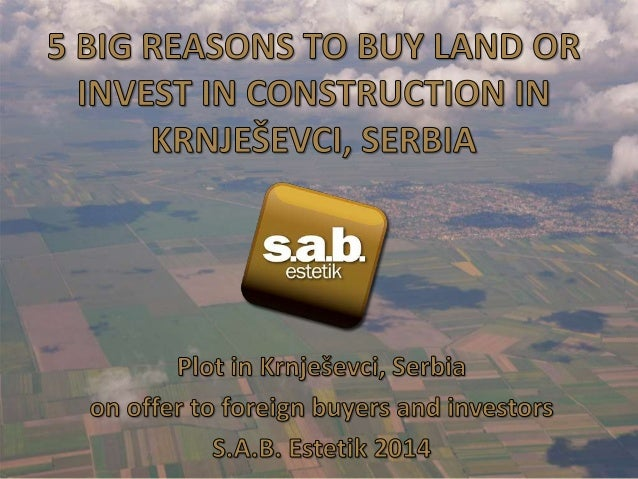 • Situated in the new industrial zone in Krnjesevci, the land plot is 3 hectares in size. • Suitable for distribution cent...