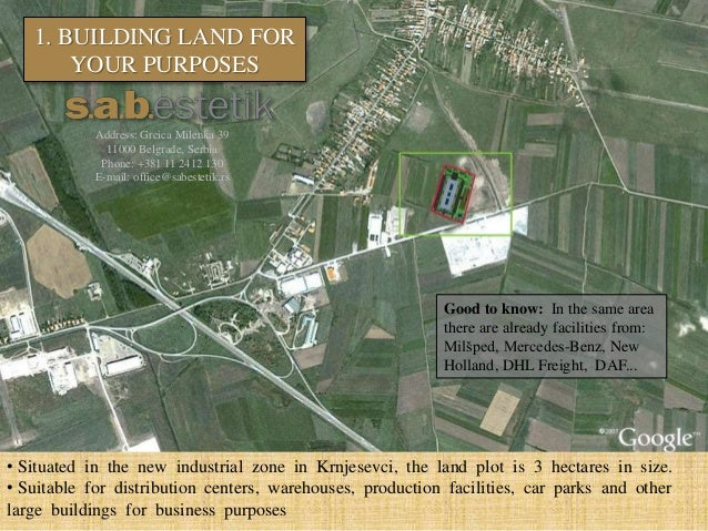 Plot In Krnjesevci, Serbia - 5 Big Reasons To Buy Or Invest Slide 2