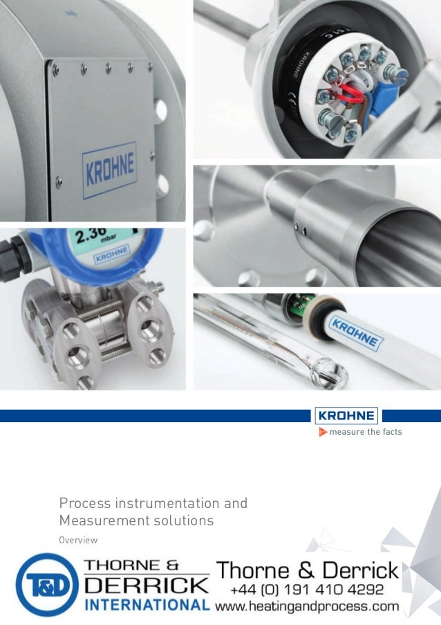 Krohne Hazardous Area Process Instrumentation Meters