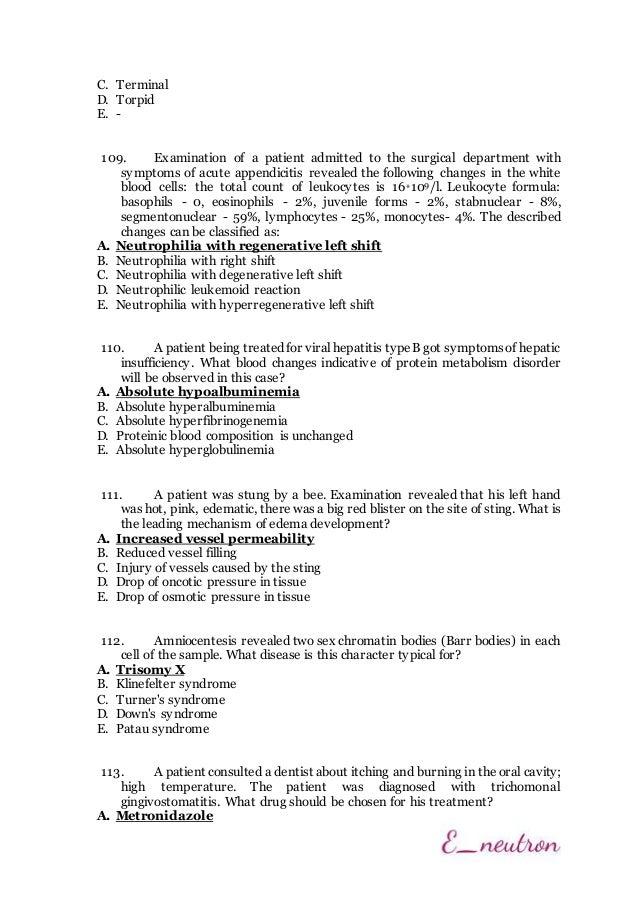 Välkända Krok 1 - 2014 (Path-Physiology) CE-84