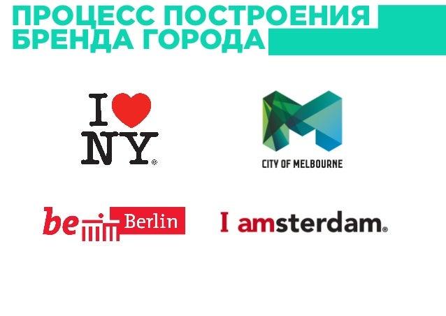 Визуальные идентификаторы как инструмент построения бренда города Slide 3