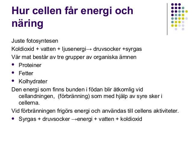 hur får man energi