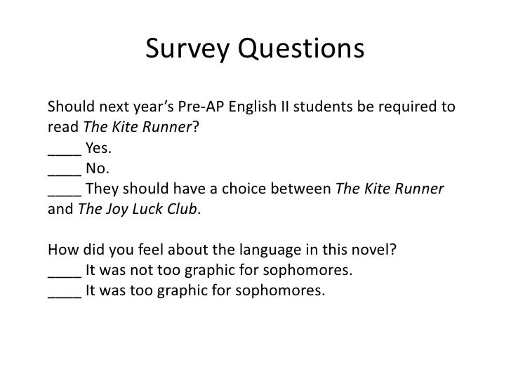 Student Survey. Family Questions Refuse Student Surveys Just Say
