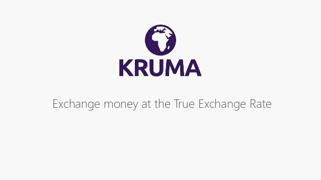 Exchange money at the True Exchange Rate