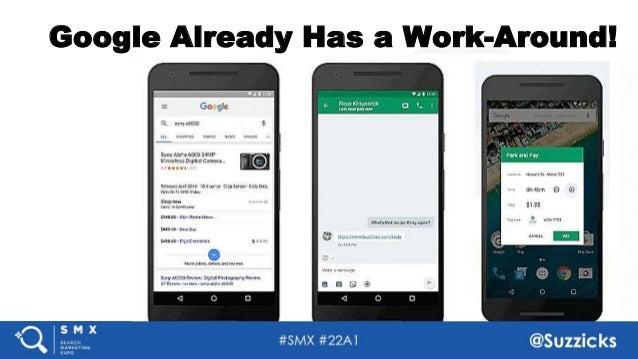 #SMX #22A1 @Suzzicks Google Already Has a Work-Around! 39