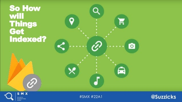 #SMX #22A1 @Suzzicks How Do We Index The World Without URLs? So How will Things Get Indexed?