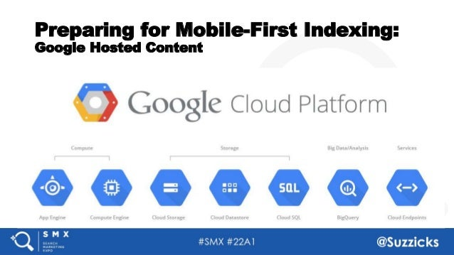#SMX #22A1 @Suzzicks Preparing for Mobile-First Indexing: Google Hosted Content