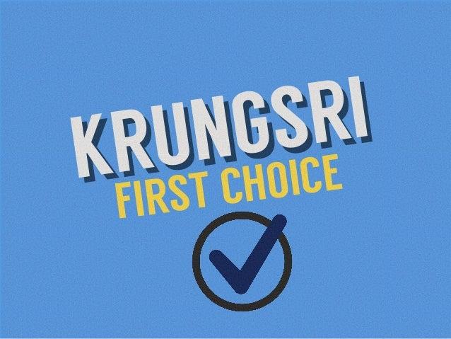 KRUNGSRI FIRST CHOICEKRUNGSRI