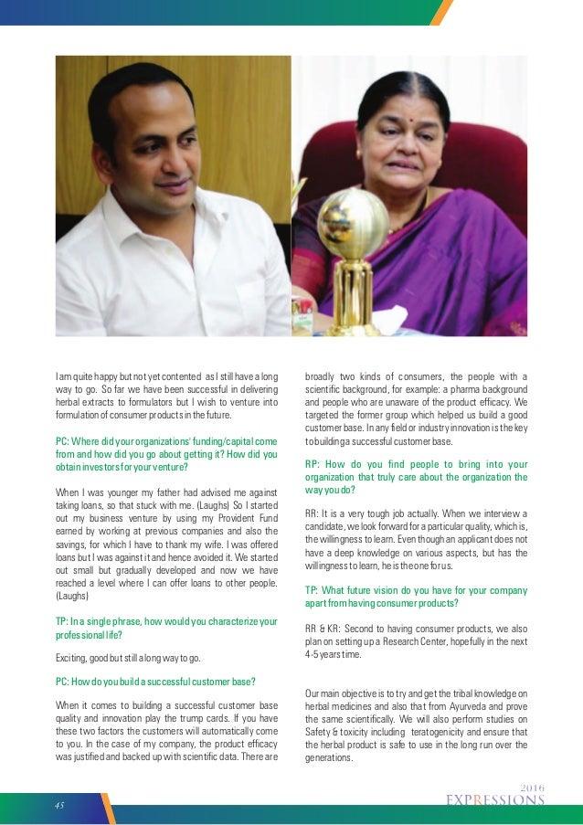 Krupanandhi college magazine 20th may 2016