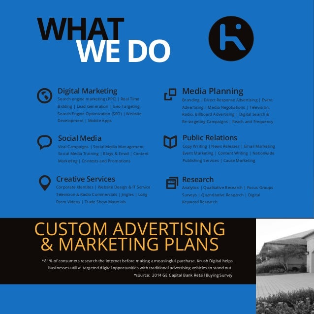 Krush Digital Brochure | Oklahoma City (OKC) Advertising Agency
