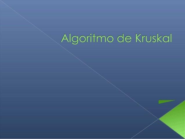 Permite hallar el árbol de mínima expansión de cualquier grafico valorado (con capacidades)