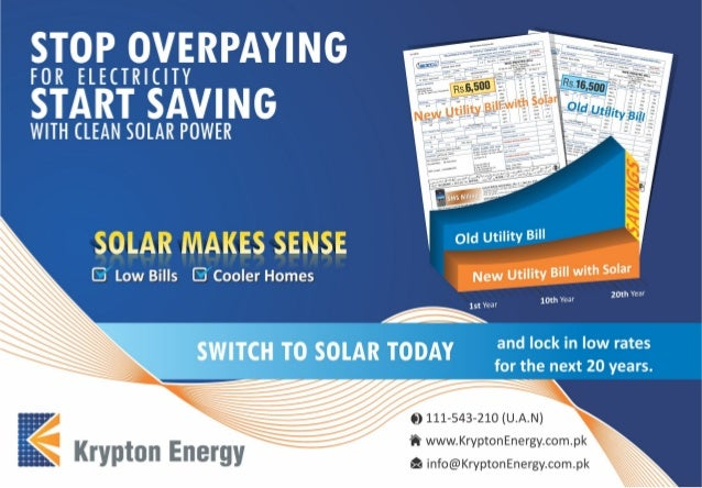 A Rooftop Solar Pv System For Your Home Krypton Energy