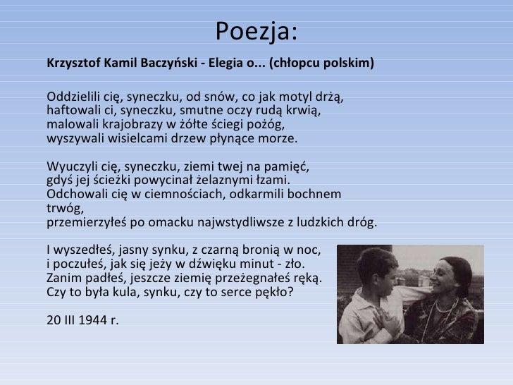 Krzysztof Kamil Baczynski 1