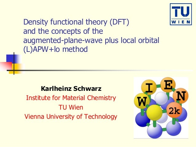 Density functional theory (DFT) and the concepts of the