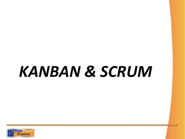 KANBAN & SCRUM