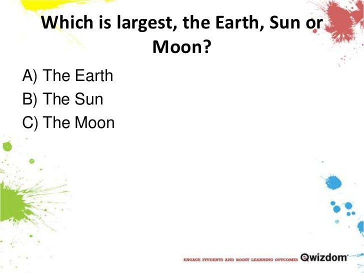 Ks2 Science Earth Moon And Sun