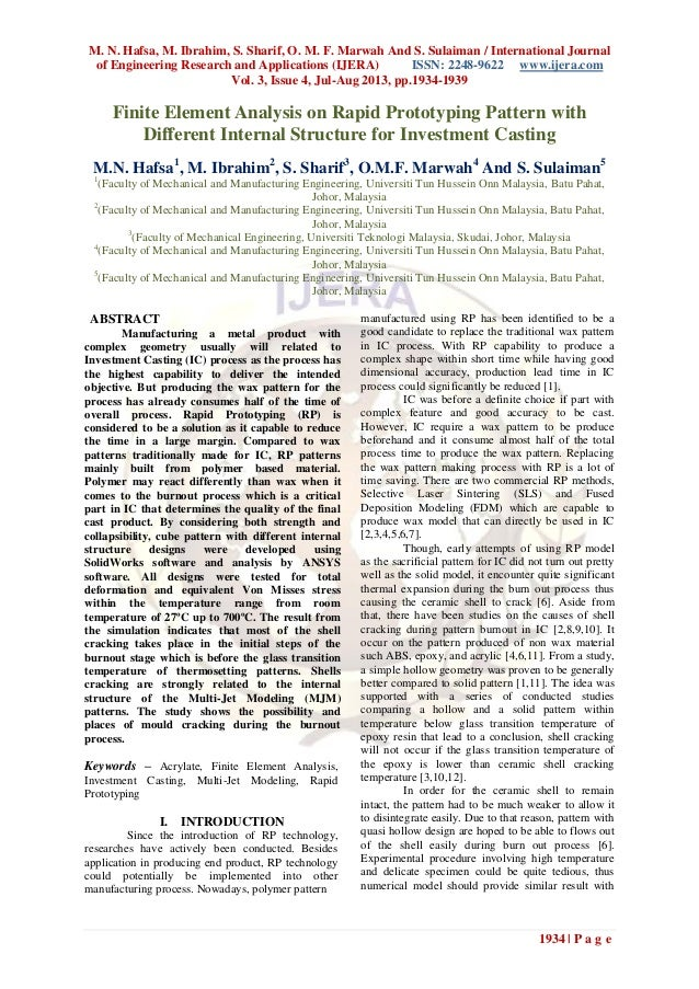 M. N. Hafsa, M. Ibrahim, S. Sharif, O. M. F. Marwah And S. Sulaiman / International Journal of Engineering Research and Ap...