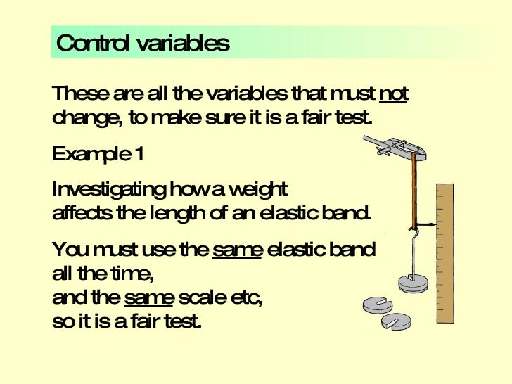 Control Variable Example] Variables And Tables, Control Variable ...