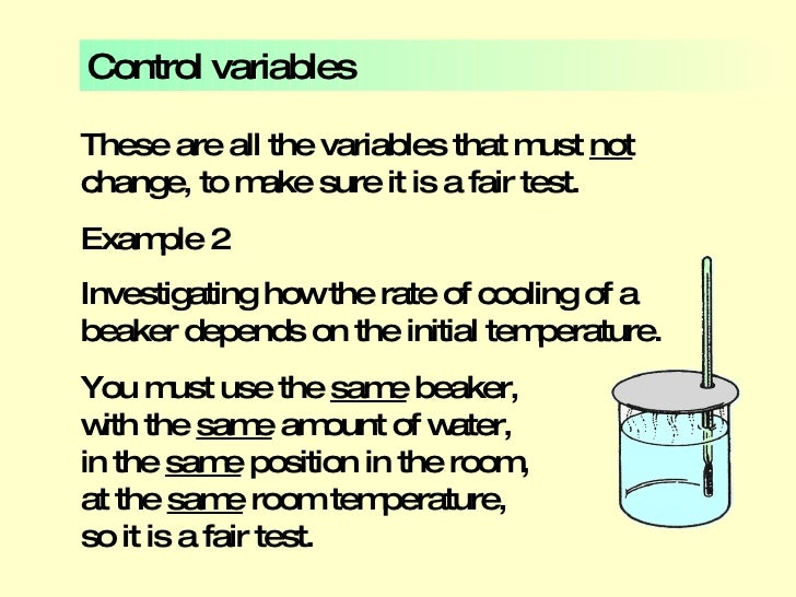 Variables and Tables