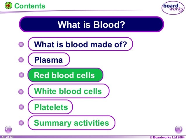 Ks4 what is blood
