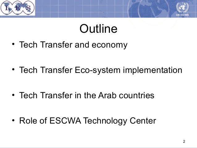 Transferring Technology to the Developing World