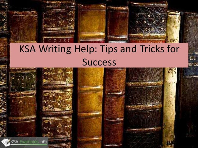 KSA Writing Help Tips And Tricks For Success
