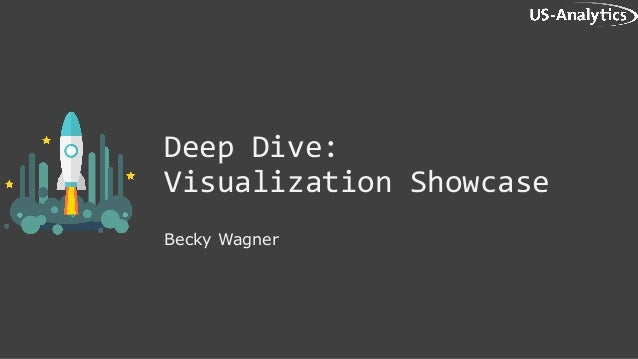 Deep Dive: Visualization Showcase Becky Wagner