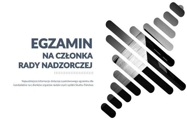 konradsiekierda.pl © 2019 Konrad Siekierda CONSULTING 1 NA CZŁONKA EGZAMIN Najważniejsze informacje dotyczące państwowego ...