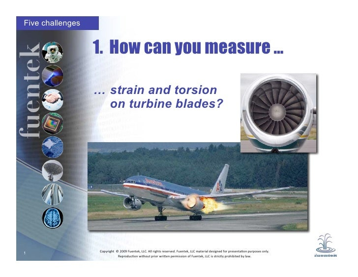 Five challenges                     1. How can you measure …                    … strain and torsion                     o...
