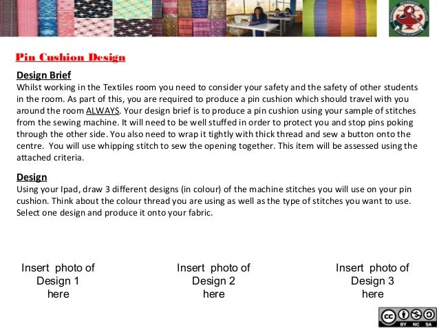 textiles year 7 paperless folio template 2012