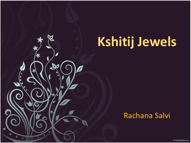 Rachana Salvi Kshitij Jewels