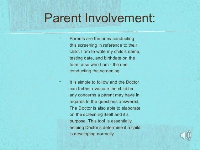 Interview project power pointfacs 294 parent involvement parents are the publicscrutiny Choice Image