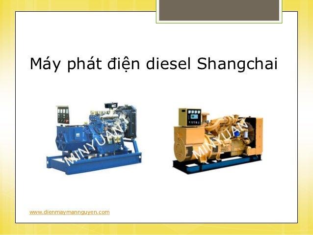 Thông số kỹ thuật máy phát điện diesel Shangchai Slide 2