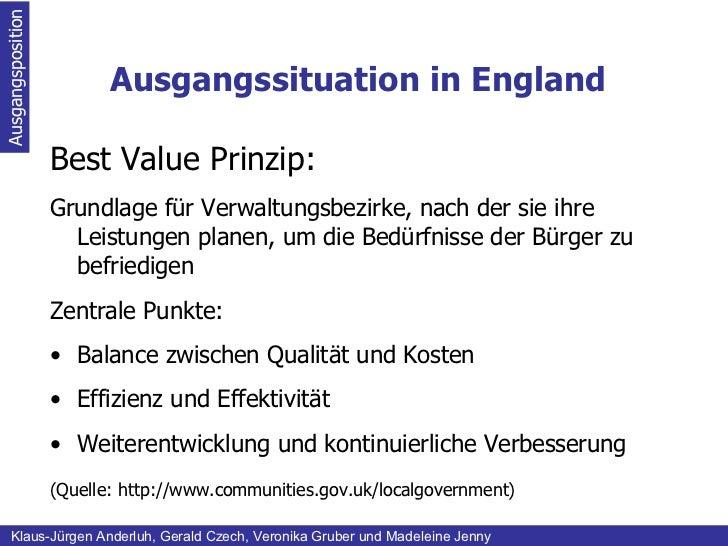 Ausgangssituation in England Ausgangsposition Klaus-Jürgen Anderluh, Gerald Czech, Veronika Gruber und Madeleine Jenny <ul...
