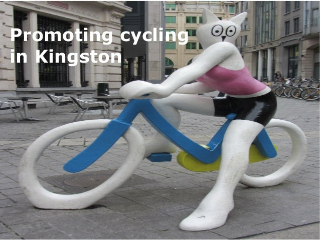 Promoting cycling in Kingston
