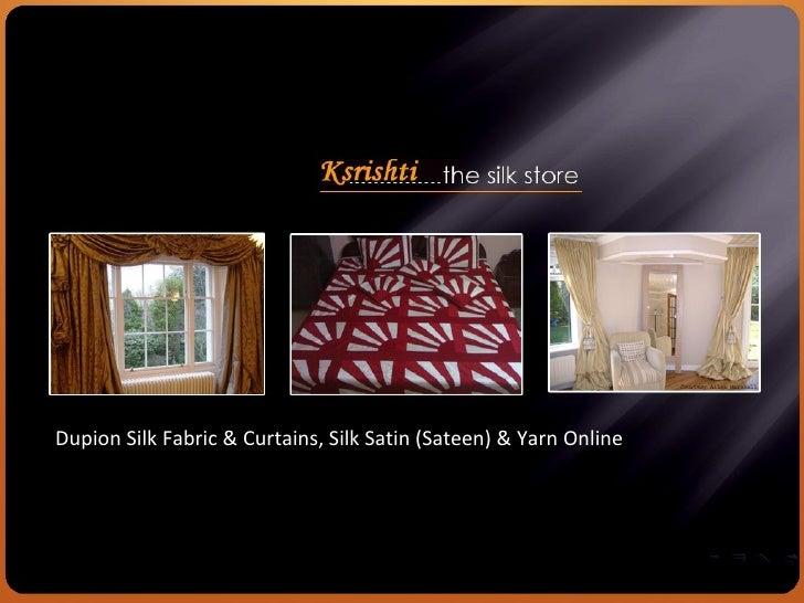 Ksrishti custom made silk curtains draperies for Custom made draperies online