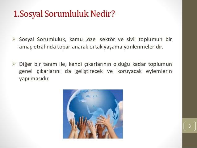 Kurumsal Sosyal Sorumluluk ve Türkiye Örneği Slide 3