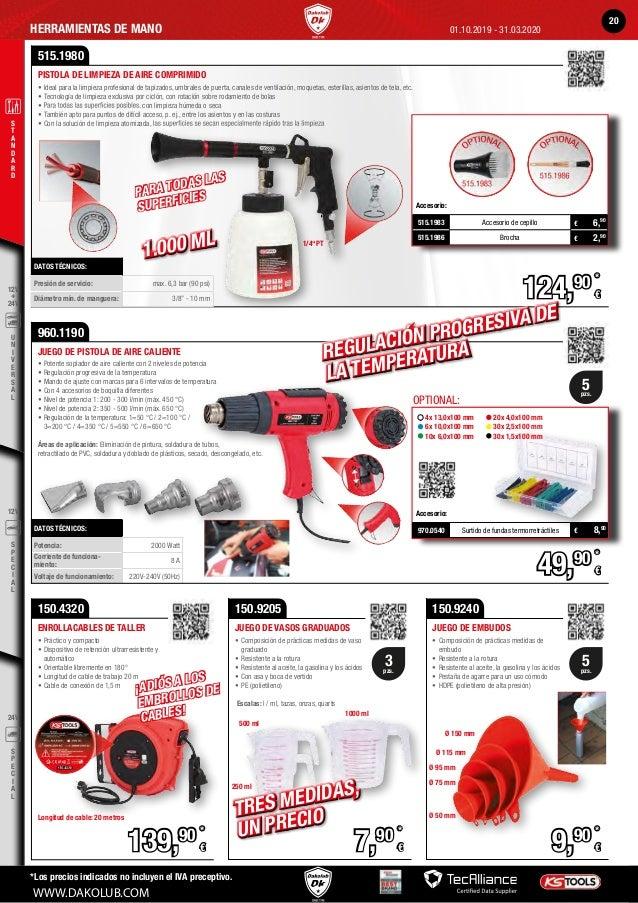Piezas magn/éticas bandeja KS Tools 800.0150 150 mm /Ø