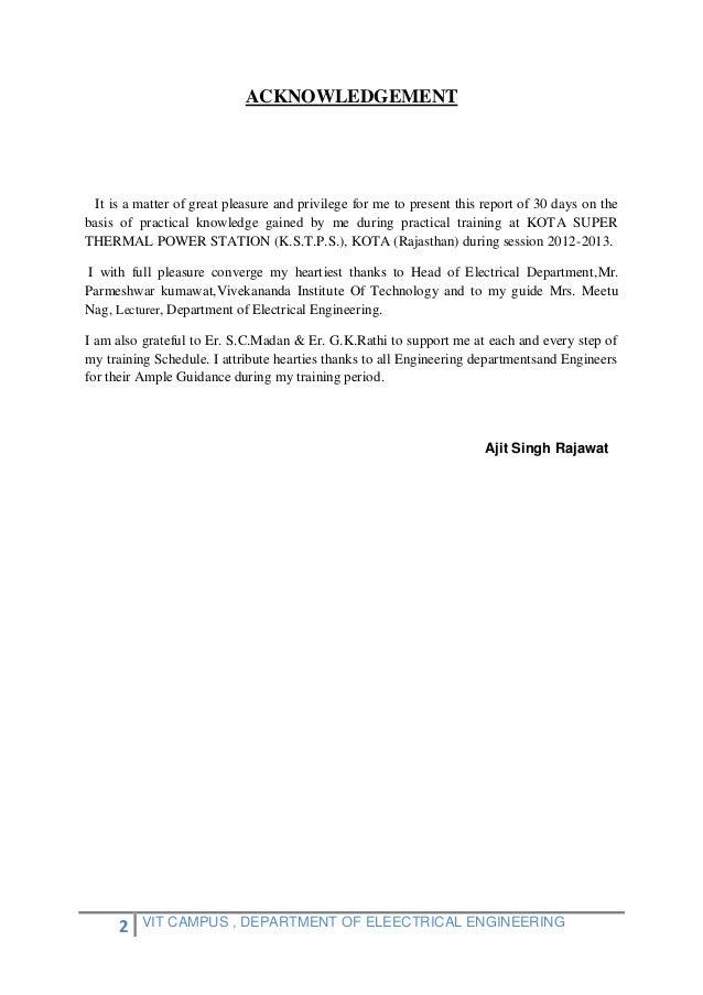 Kstps Report, KOTA ,Rajasthan (India) Slide 2