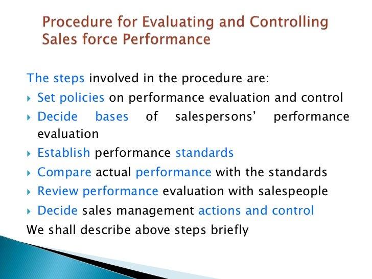 KKN India ltd sale force performance evaluation by Ketan thakur