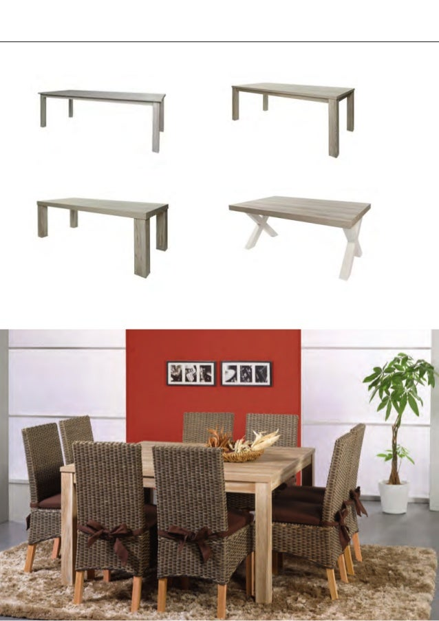 Tables& Coffee tables New indentification with new models Square tables no extensions possible VT 13 1350 x 775 x 1350 VT ...
