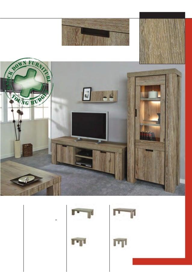 57 Multiple coffee table options L - T Insert handle on doorpanel K 550 T 13 T 1350 x 435 x 675 HT 1 T 675 x 435 x 675 T 1...