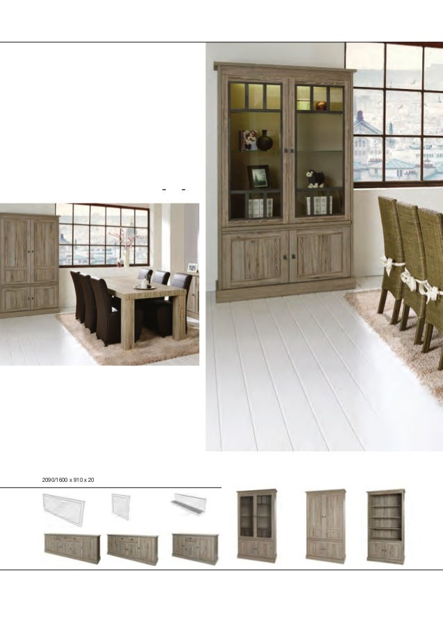 York cottage style vs timeless romance Multiple table options L - X - T Sideboards height 90 cm with solid look doorframes...