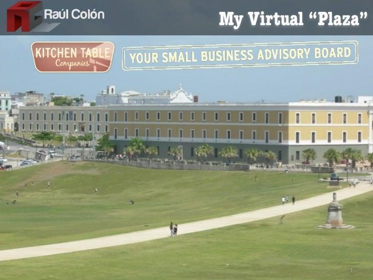 "My Virtual ""Plaza""               1"