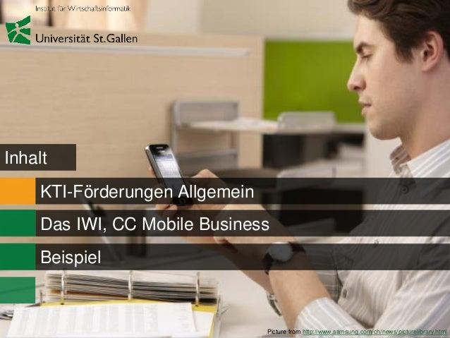 Kti förderung mit dem cc mobile business Slide 3