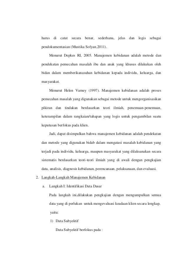 MANAGEMEN ASUHAN KEBIDANAN (ANC, INC, PNC)