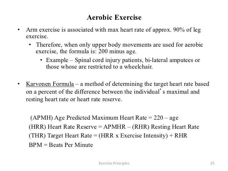 Exercise Principles