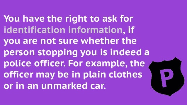 Can An Unmarked Police Car Give You A Ticket