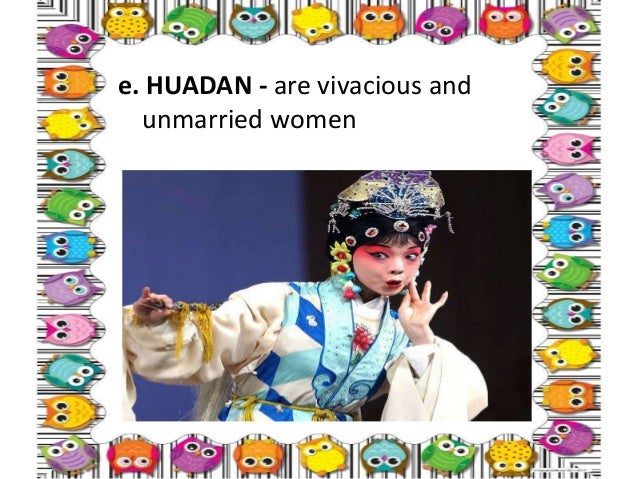 • 3. JING -is a painted face male role who plays either primary or secondary roles, entails a forceful character, -must ha...